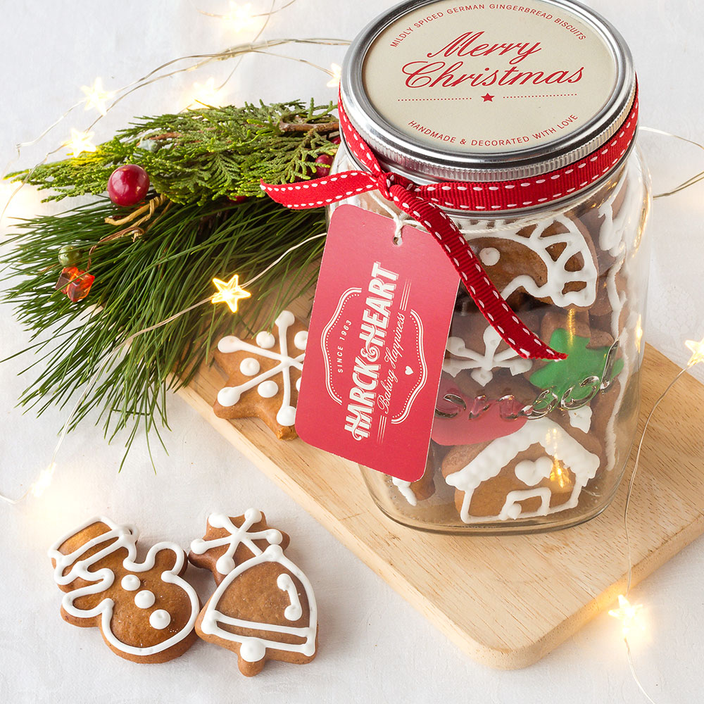 H\u0026H Christmas Gift Jar