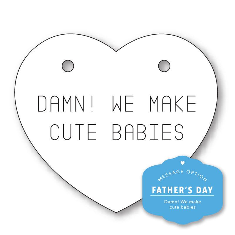 DAMN! WE MAKE CUTE BABIES